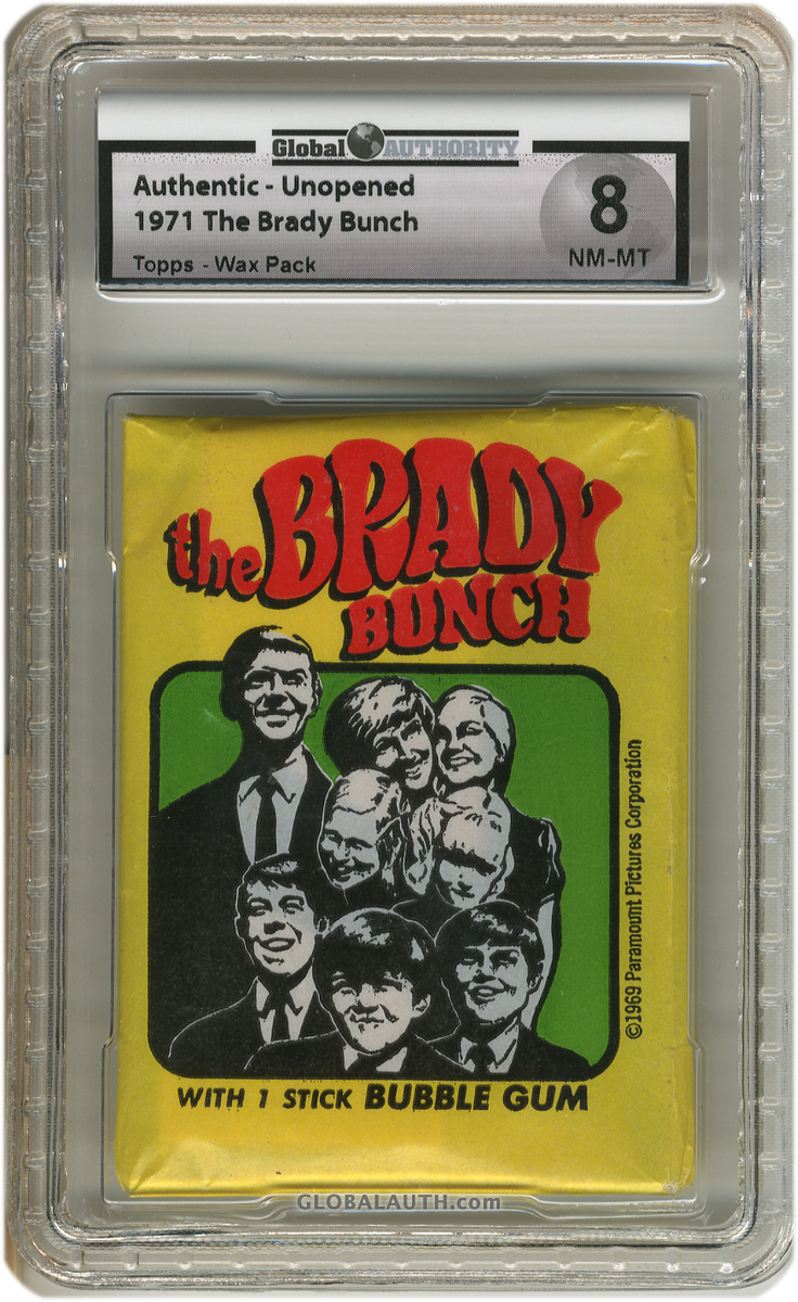 1971 The Brady Bunch Topps - Wax Pack