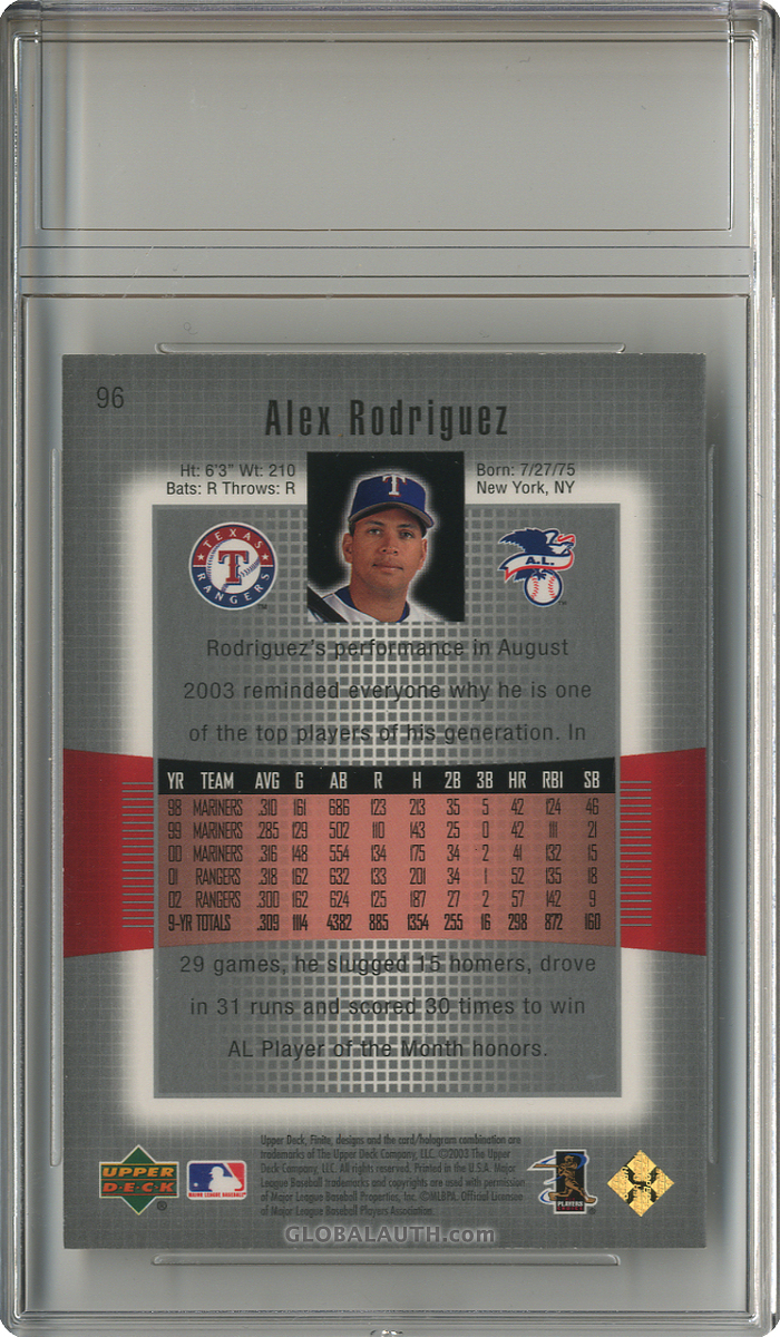2003-upper-deck-finite-gold-96-alex-rodriguez-back-image.jpg, #1