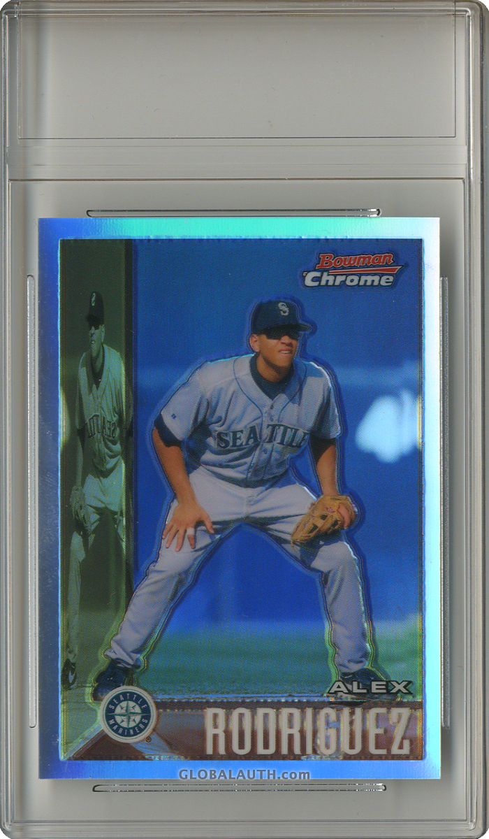 2005 Bowman Chrome A-Rod Throwback Refractor 95-AR: Alex Rodriguez — 1995