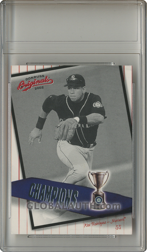 2002 Donruss Originals Champions C-16: Alex Rodriguez