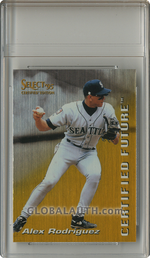 1995 Select Certified Future #10: Alex Rodriguez
