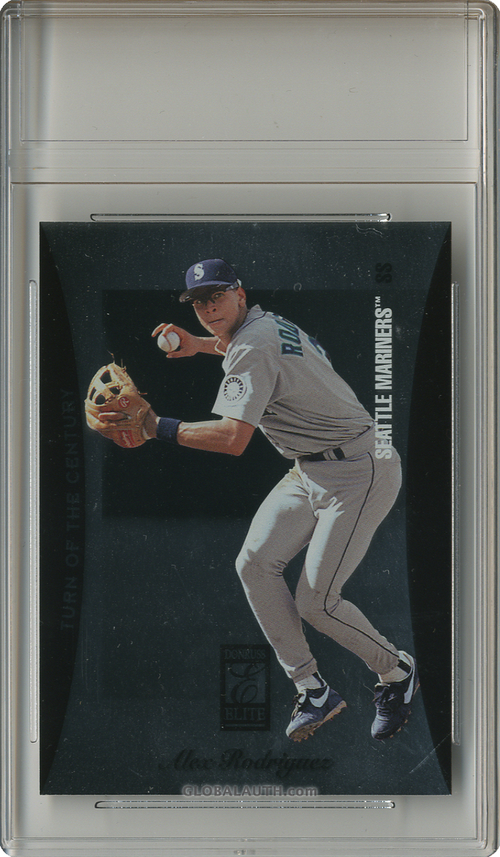 1997 Donruss Elite Turn of the Century #1: Alex Rodriguez