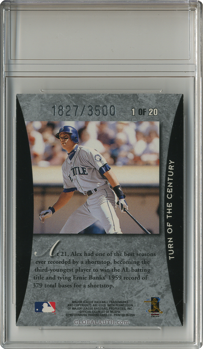 1997-donruss-elite-turn-of-the-century-1-alex-rodriguez-back-image.jpg, #1