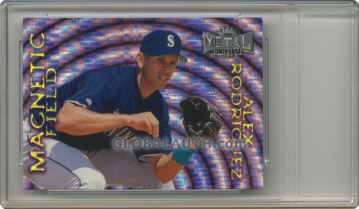 1997 Metal Universe Magnetic Field #9: Alex Rodriguez