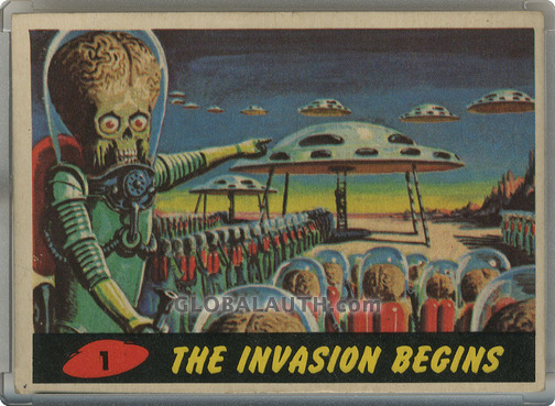 1962 Mars Attacks Non-Sports Card Set