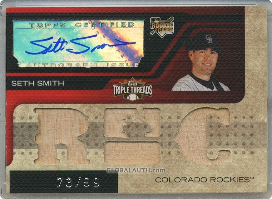 2008 Topps Triple Threads #158: Seth Smith