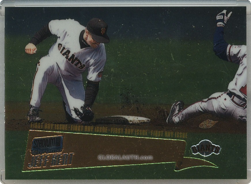 2000 Stadium Club Chrome First Day Issue #35: Jeff Kent