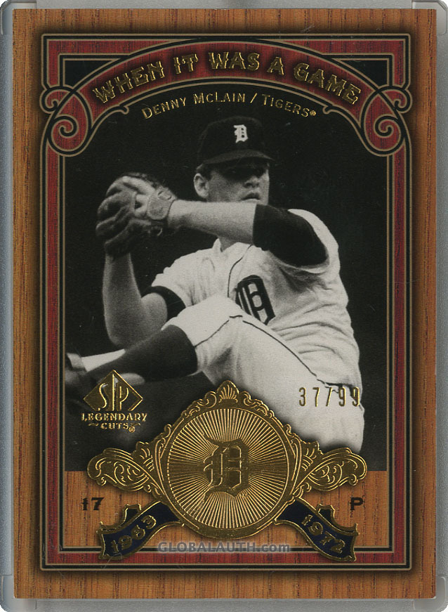 2006-sp-legendary-cuts-when-it-was-a-game-gold-ws-dy-denny-mclain-front-image.jpg, #0