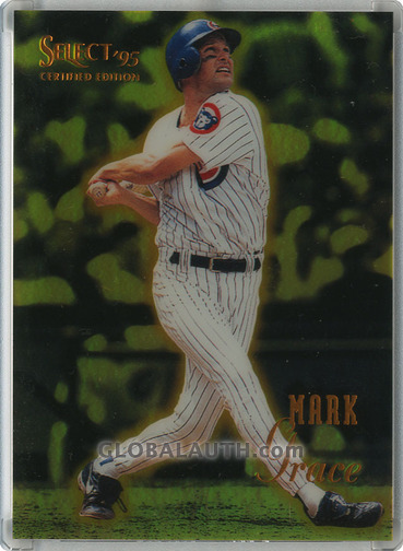 1995 Select Certified Mirror Gold #90: Mark Grace