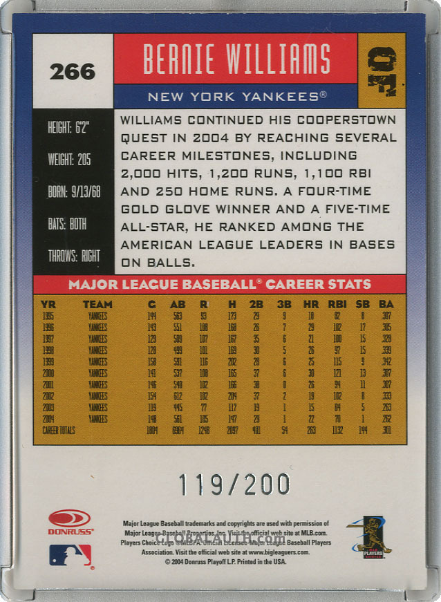 2005-donruss-press-proof-red-266-bernie-williams-back-image.jpg, #1
