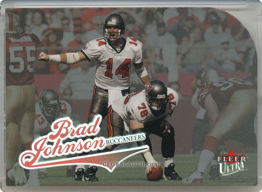 2004 Ultra Platinum #47: Brad Johnson