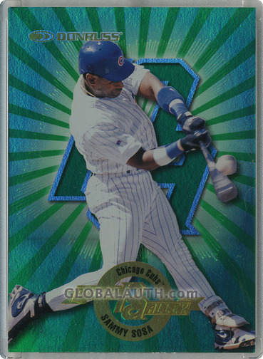 1997 Donruss Power Alley #22: Sammy Sosa