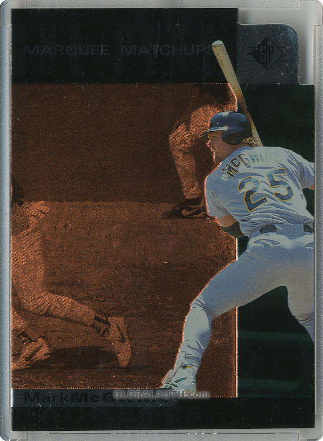 1997 SP Marquee Matchups MM4: Mark McGwire