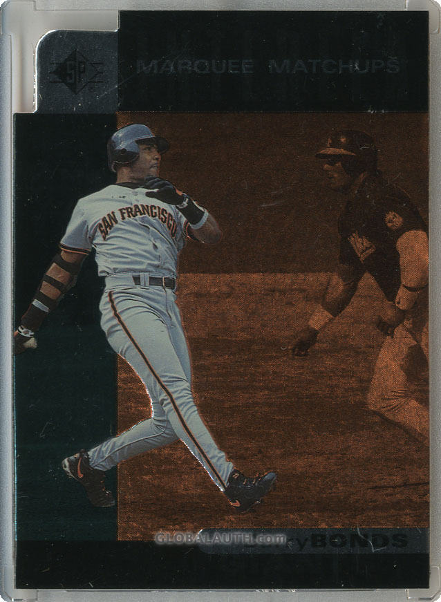1997 SP Marquee Matchups MM3: Barry Bonds