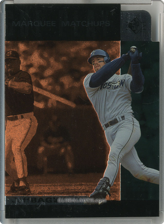 1997 SP Marquee Matchups MM12: Jeff Bagwell