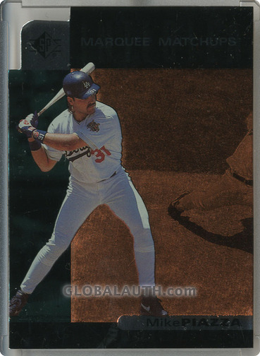 1997 SP Marquee Matchups MM5: Mike Piazza