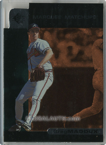 1997 SP Marquee Matchups MM13: Greg Maddux