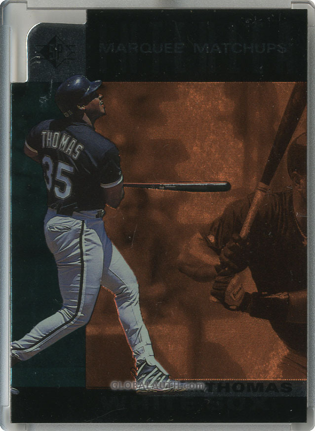 1997 SP Marquee Matchups MM19: Frank Thomas
