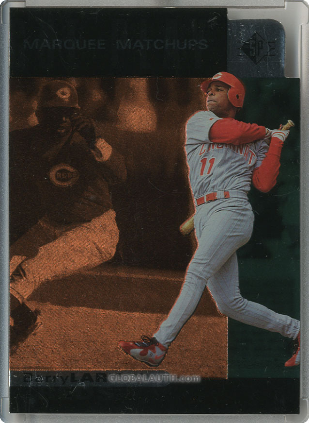 1997 SP Marquee Matchups MM18: Barry Larkin
