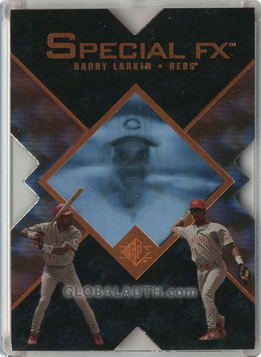 1997 SP Special FX #19: Barry Larkin