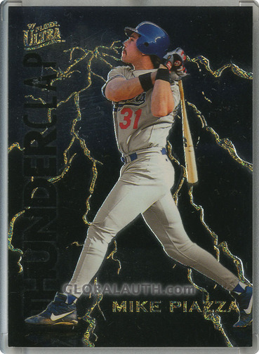 1997 Ultra Thunderclap #9: Mike Piazza