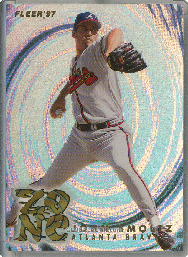 1997 Fleer Zone #17: John Smoltz