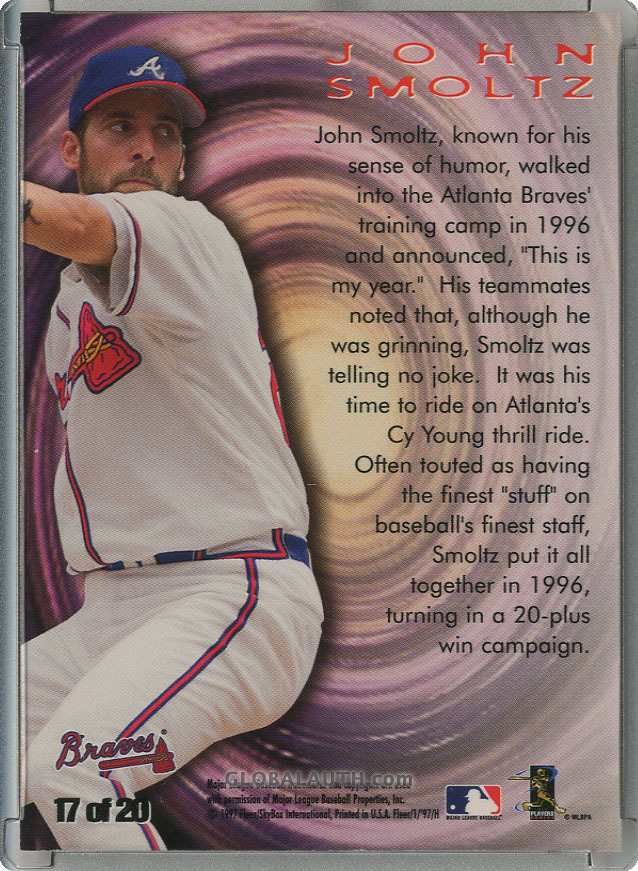 1997-fleer-zone-17-john-smoltz-back-image.jpg, #1