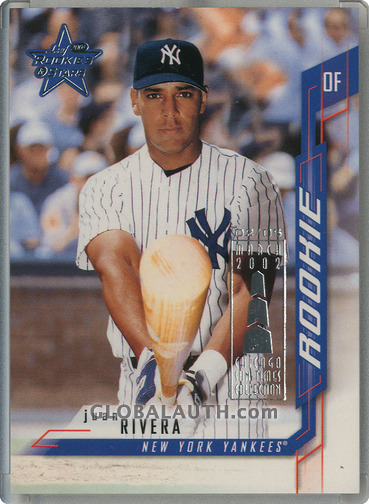 2001 Leaf Rookies and Stars Chicago Collection #283: Juan Rivera