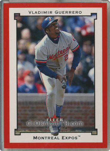 2002 Fleer Premium Star Ruby #101: Vladimir Guerrero
