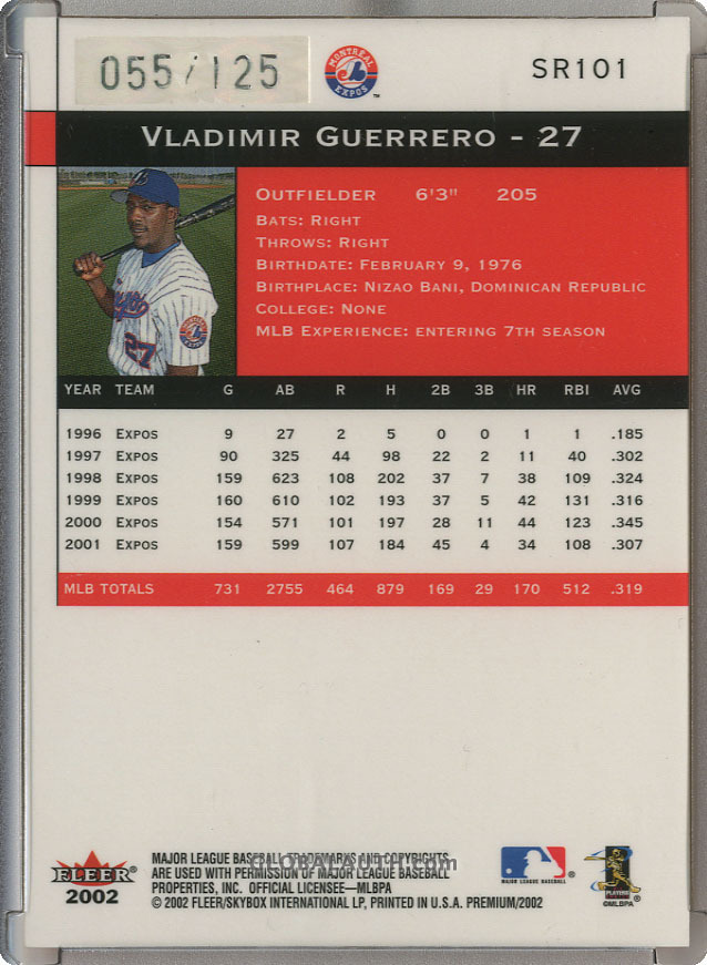 2002-fleer-premium-star-ruby-101-vladimir-guerrero-back-image.jpg, #1