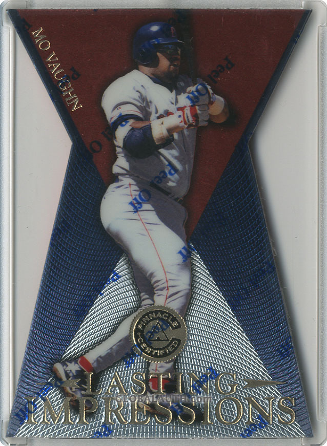 1997 Pinnacle Certified Lasting Impressions #3: Mo Vaughn