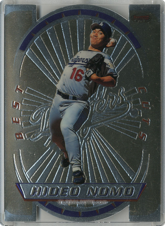 1996 Bowman's Best Cuts #3: Hideo Nomo