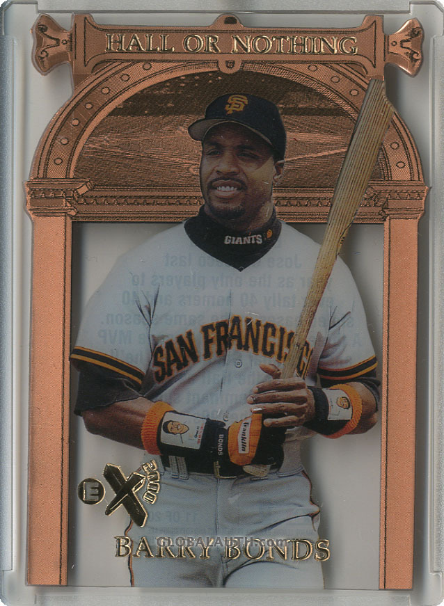 1997 E-X2000 Hall or Nothing #11: Barry Bonds
