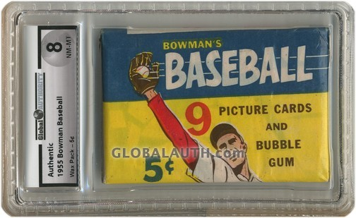 1955 Bowman Baseball Wax Pack - 5¢
