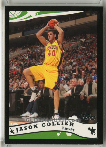 2005-06 Topps Black #128: Jason Collier