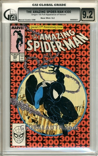 1988 Marvel Comics #300: Amazing Spider-Man — Origin / 1st Full Apperance of Venom